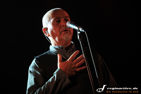 mit dem new blood orchestra - Peter Gabriel live in der SAP Arena in Mannheim